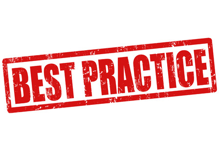 практика: Лучшая практика гранж штамп на белом фоне, векторные иллюстрации