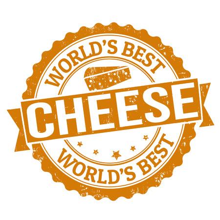 kaas: Grunge rubber stempel met het woord kaas binnen geschreven, vector illustratie