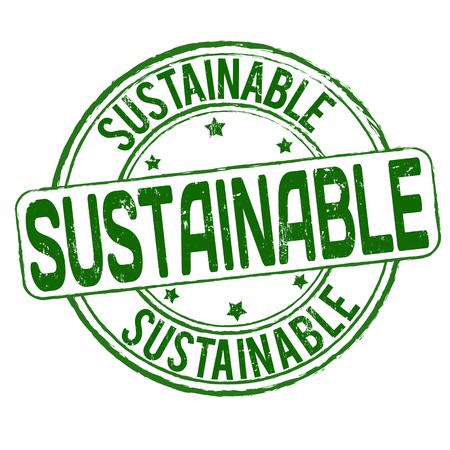 energy ranking: Sustainable grunge rubber stamp on white Illustration