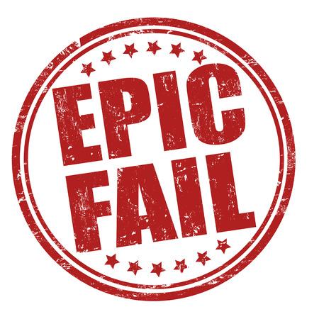 서사시: 에픽 화이트 그런 지 도장 실패