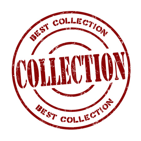 certificated: Collection grunge rubber stamp on white, vector illustration Illustration