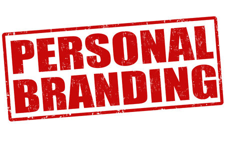 Personal branding grunge rubber stamp on white Vector