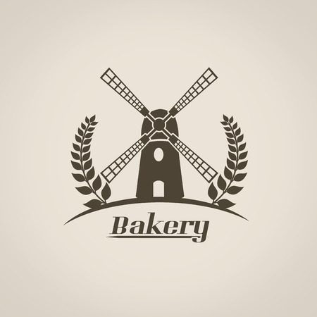 Bakery in vitage style poster, vector illustration Vector