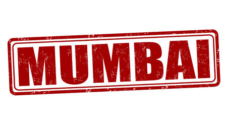 mumbai: Mumbai grunge rubber stamp on white, vector illustration Illustration