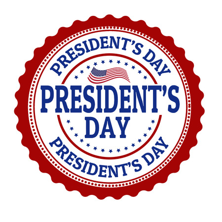 president's: Presidents day stamp