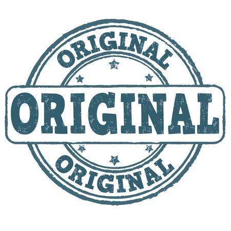 Originele grunge rubber stempel op een witte, vector illustratie Vector Illustratie