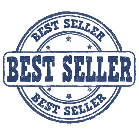 bestseller: Best seller grunge rubber stamp on white, vector illustration Illustration