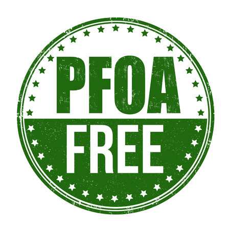 PFOA free grunge rubber stamp on white background, vector illustration Vector