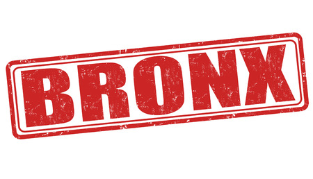 bronx: Bronx grunge rubber stamp on white background, vector illustration