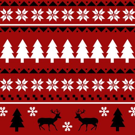 christmas seamless pattern: Seamless Christmas pattern pattern