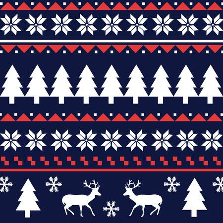 Naadloze patroon van Kerstmis patroon Stockfoto - 32863309