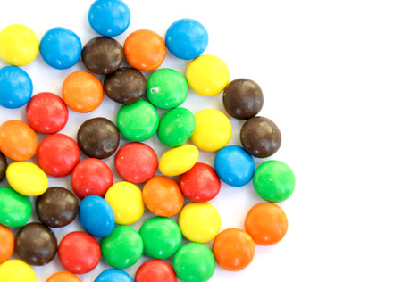s m: Colorful candies