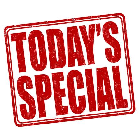 Todays special Vetores