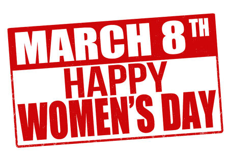 womens day: Womens day stamp