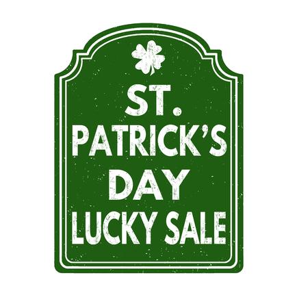 patrick: St. Patrick day kucky sale Illustration