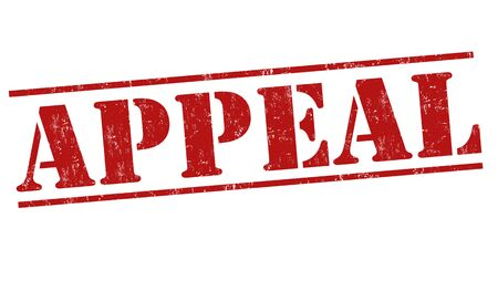 petition: Appeal grunge rubber stamp on white, vector illustration