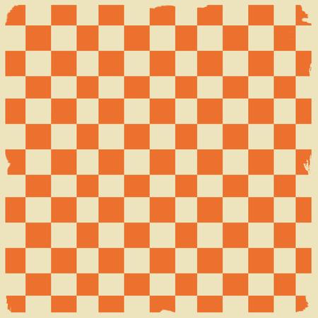 checkerboard: Retro tablecloth texture, illustration