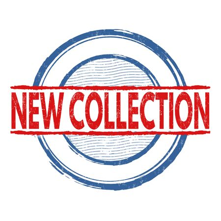 certificated: New Collection grunge rubber stamp on white background, vector illustration
