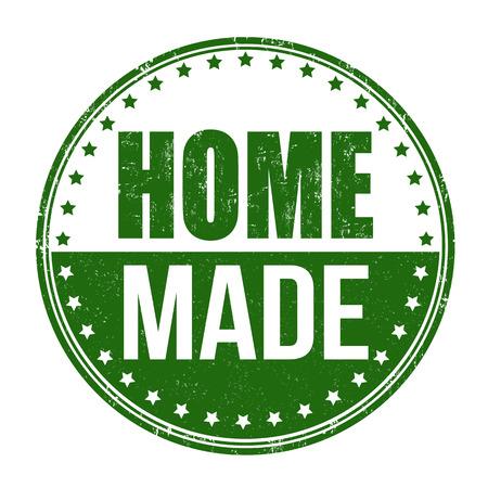 carefully: Home made grunge rubber stamp on white background, vector illustration