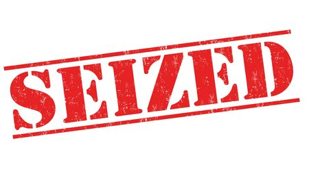 seized: Seized grunge rubber stamp on white background, vector illustration