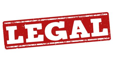 lawsuit: Legal grunge rubber stamp on white background, vector illustration