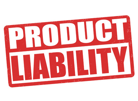defects: Product liability grunge rubber stamp on white background, vector illustration Illustration