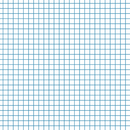math paper: Math paper texture background. Sheet of exercise book for math, vector illustration Illustration