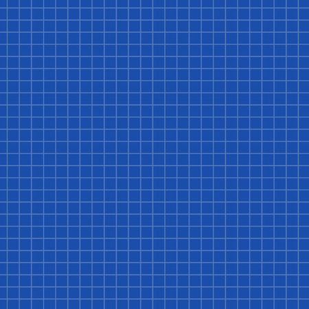 math paper: Math paper texture background on blue. Sheet of exercise book for math, vector illustration
