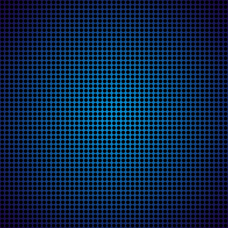 Blue metal texture stainless steel background, vector illustration