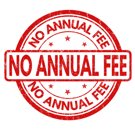 honorarium: No annual fee grunge rubber stamp on white background, vector illustration