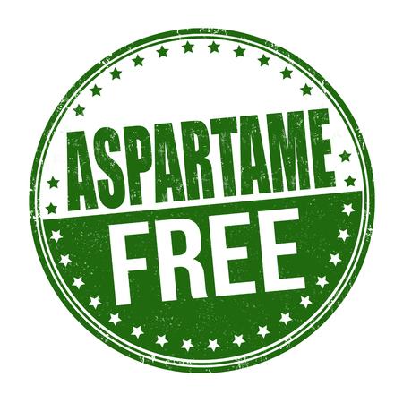 アスパルテーム無料グランジ ゴム印