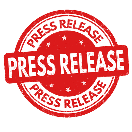 Press release grunge rubber stamp on white background, vector illustration Illustration