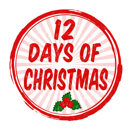 photo regarding 12 Days of Christmas Printable Templates called 12 Times Xmas Inventory Examples, Cliparts And Royalty