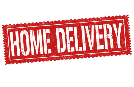 Home delivery banner.