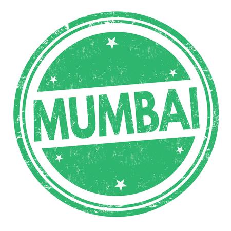 Mumbai sign or stamp on white background, vector illustration