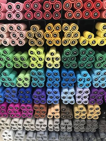 colored pencils for a loved ones creativity Stock Photo