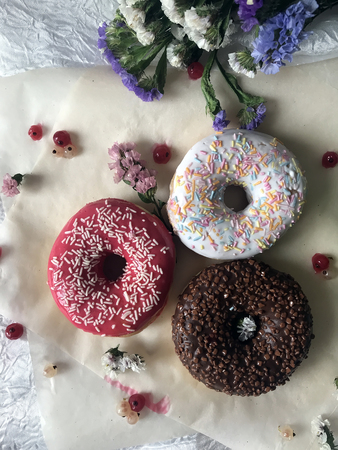 Watermelon and Donuts