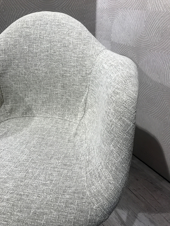 Fashionable chair as interior decor in modern trends