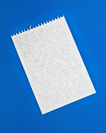 Sheet of paper photo