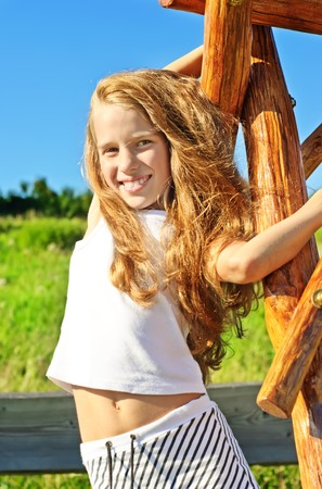 8 years: Eight years old girl