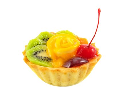 Cupcake with fruits Stock Photo - 8251544