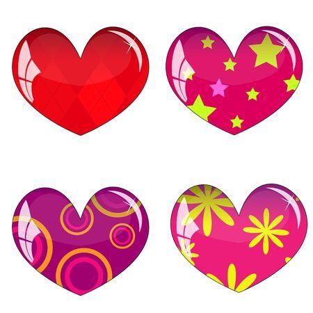 Hearts Stock Vector - 8507785