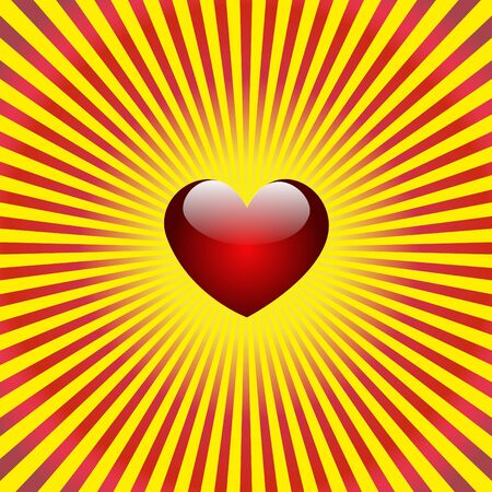 hot couple: Heart background