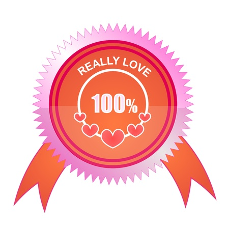 date stamp: 100% Love Stamp