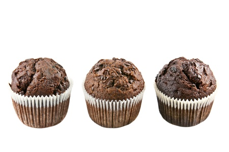 Schoko muffin Standard-Bild