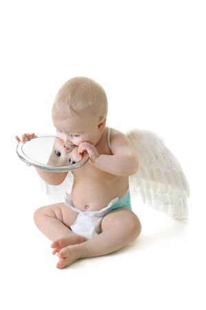 Angel baby photo