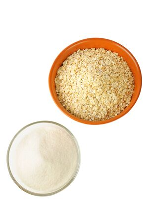oat and sugar: carbohydrate foods photo