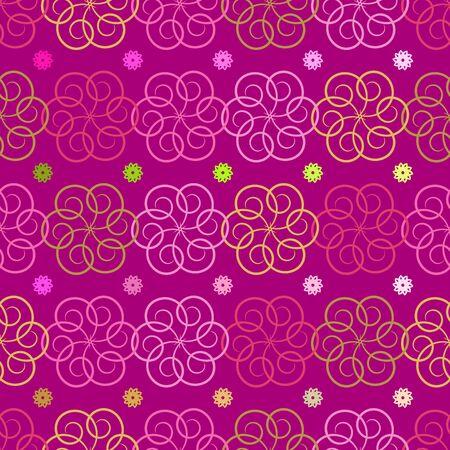 Seamless elegant pattern Stock Vector - 9229862