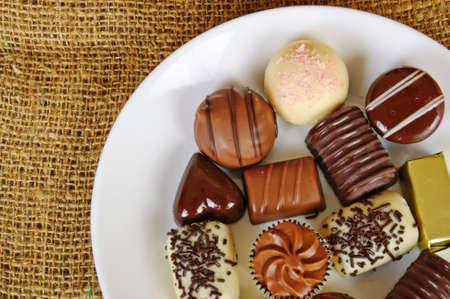 Chocolate sweets photo