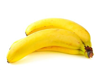Three fresh bananas photo